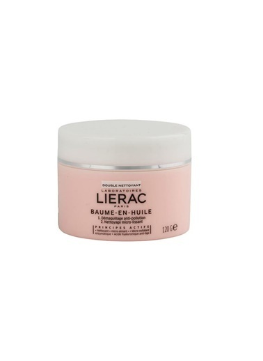 Lierac LIERAC Balm in Oil Double Cleanser 120 gr Renksiz